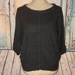 LOFT~DolMan Sleeved Boatneck Pocket Sweater~XS/S